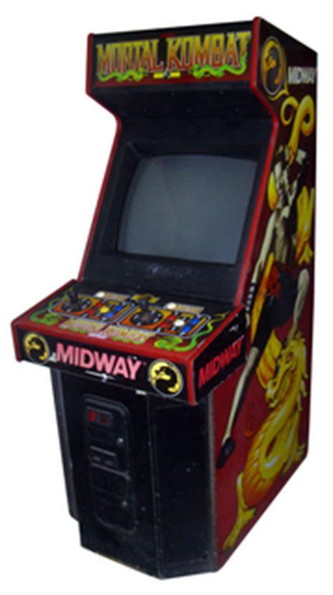 mortal kombat arcade cabinet mortal kombat videogame by midway