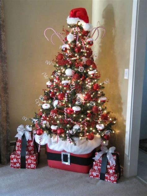 arboles de navidad pequenos decorados