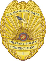 marine corps military police corrections officer