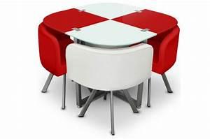 Ensemble table 4 chaises damier achat table pas chere for Deco cuisine avec chaise cuir blanc salle a manger