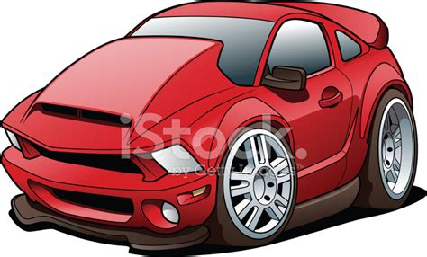 Cartoon Sports Car Stock Vector Freeimagescom