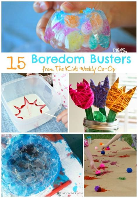15 Boredom Busters to Get You Through the Summer Craft