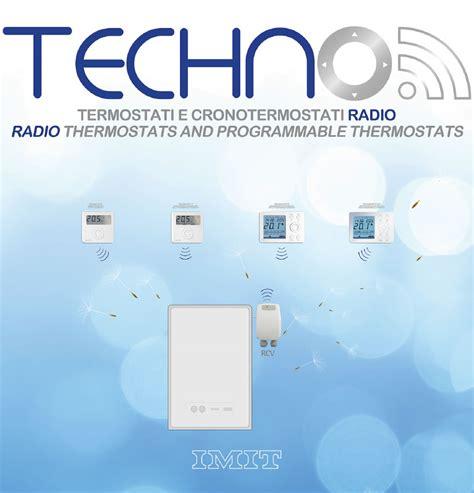 Termoregolazione Riscaldamento A Pavimento by Imit Techno Radio Termoregolazione Riscaldamento
