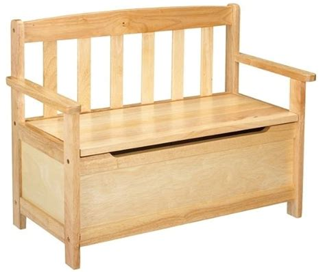 Build a Toy Box Bench