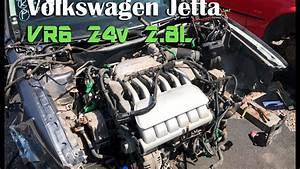 Vr6 24v Volkswagen Engine Removal