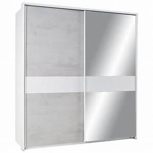 Schwebetürenschrank Weiß Grau : schwebet renschrank beton wei spiegel ohne ppt online kaufen m max ~ Markanthonyermac.com Haus und Dekorationen