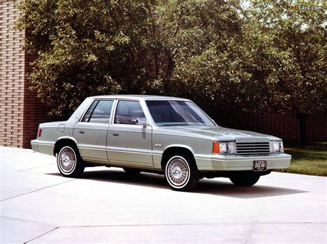 Dodge Aries 1980–81 images (1024x768)