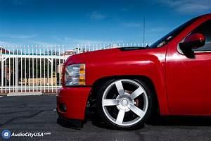 22 U0026quot  Chevy 1500 Ss Truck Wheels Fr 33 Silver Oem Replica