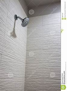 Modern Apartment Bathroom Shower Stock Photo - Image of ...