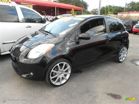 2008 toyota yaris 3 door liftback custom wheels photo
