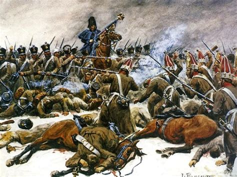 siege napoleon the battle of eylau 8 february 1807 révolution 1er