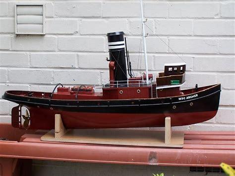 steam tug archer plans aerofred   model