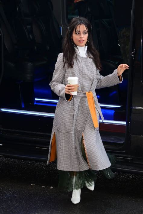 Camila Cabello Out About New York