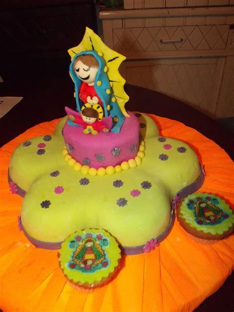 Torta Virgen de la Guadalupe
