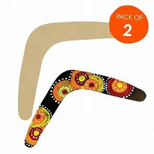Put Your Own Pattern On These Wooden Boomerang Shapes