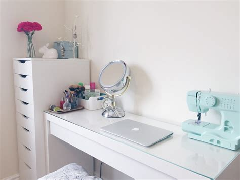 makeup desk ikea uk make up and desk space hello deborah
