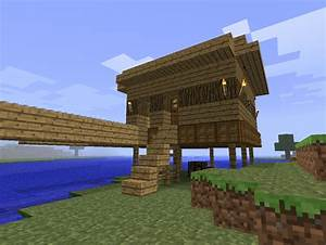 House in Notch on Throne Minecraft Project