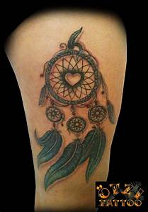Attrape Reve Tatoo : dreamcatcher tattoo love the heart in the middle and wouldn 39 t want the smaller catchers but ~ Nature-et-papiers.com Idées de Décoration