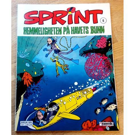 Sprint: Nr. 6 - Hemmeligheten på havets bunn (3. opplag ...