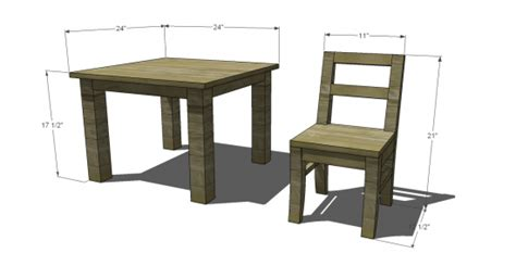 woodworking plans for childrens table and chairs free diy furniture plans to build a pottery barn kids