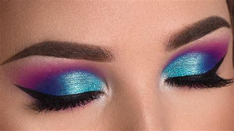 colorful makeup colorful summer smokey eye makeup tutorial hill x