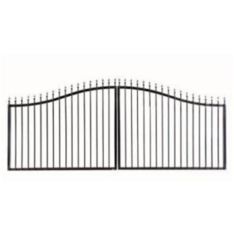 mighty mule steel gate fence from home depot metal