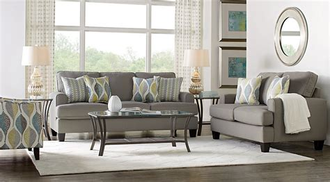 cypress gardens gray  pc living room living room sets