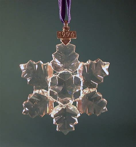 swarovski swarovski 1996 christmas ornament 199734