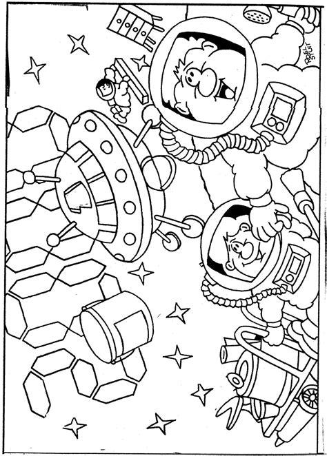 5 Jaar Samen Met Vriend Kleurplaat by Astronaut Kleurplaat 974519 Kleurplaat