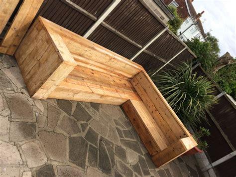 reclaimed scaffold board sofa pallets garden plank