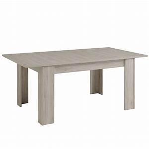 Table Extensible Salle A Manger : table de salle manger extensible bellissimo gris ~ Teatrodelosmanantiales.com Idées de Décoration
