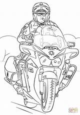 Coloring Motorcycle Sheriff Pages Swat Printable Officer Template Police Drawing Fbi Army Truck Paper Templates Dot London sketch template