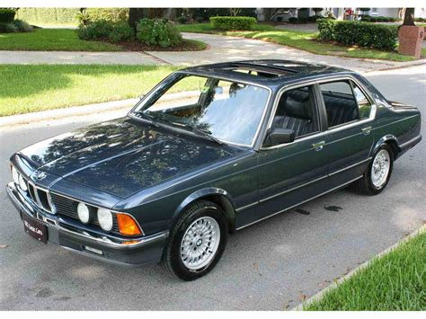 745i Bmw For Sale by 1985 Bmw 745i For Sale Classiccars Cc 897474
