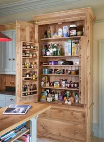 gorgeous freestanding pantry in kitchen traditional with
