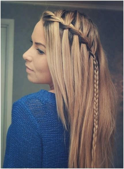 cute braid ideas long hairstyles  straight hair