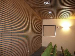 habillage de mur interieur en bois obasinccom With mur en bois interieur