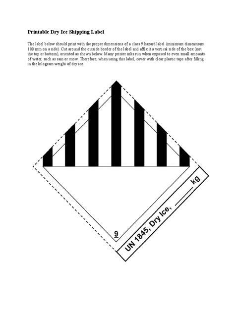 label  printable labels information list