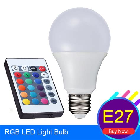 aliexpress buy rgb led bulb light e27 3w 5w 7w led