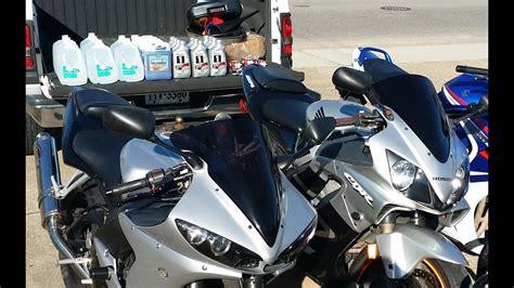Motorcycle Coolant Change