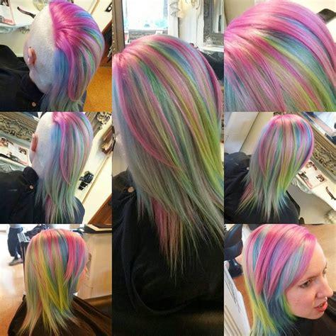 Hair Tagged As Pastel Rainbow