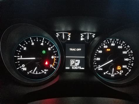 Check Engine Light Toyota by 2017 Toyota Tacoma Check Engine Light And Trac
