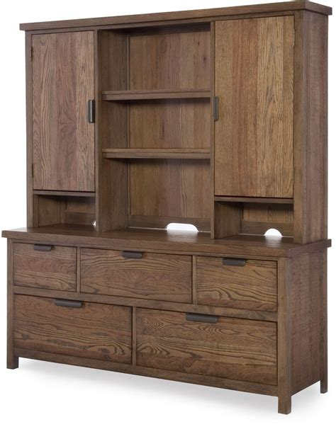 dresser with hutch fulton county brown dresser with hutch from legacy
