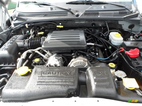 Dodge Durango Engine by 2001 Dodge Durango Slt 4 7 Liter Sohc 16 Valve V8 Engine