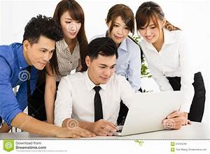 Business People Working Together At Meeting Stock Photo ...