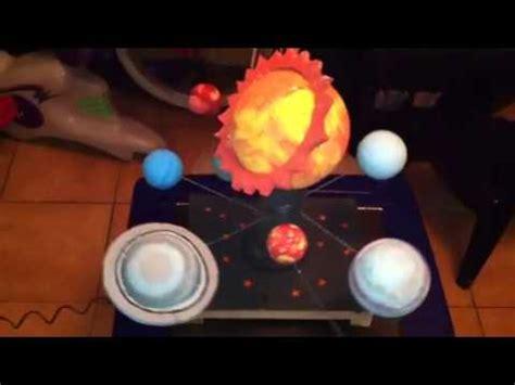 maqueta del sistema solar jmm youtube