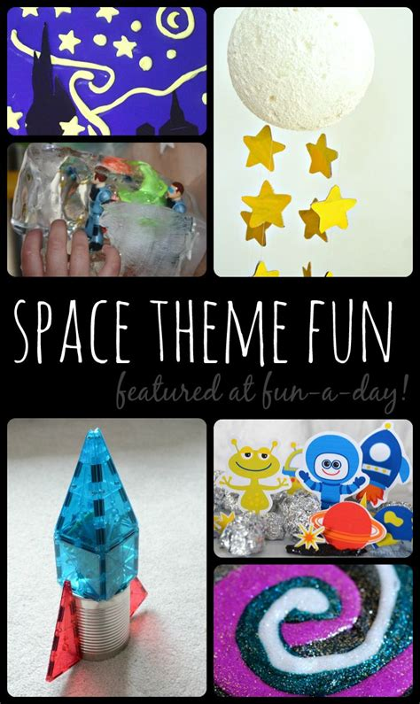 18 Activities For A Space Theme  Searching, My Children And Activities