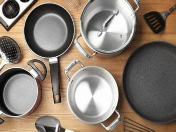 stainless steel  hard anodized cookware   safer