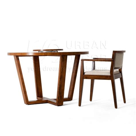 solid wood round dining table alea round solid wood dining table