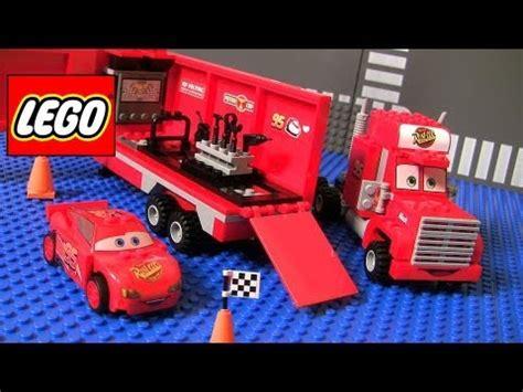 disney cars  lego mack team truck  youtube