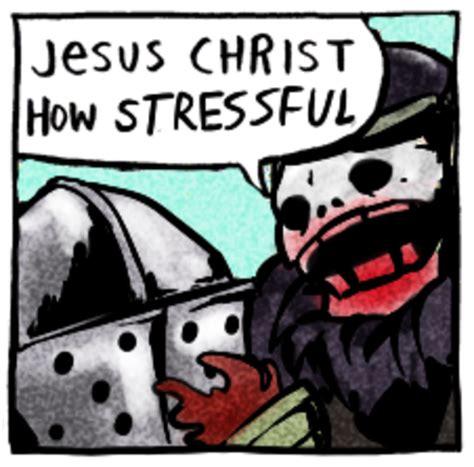 Jesus Christ How Horrifying Meme - jesus christ how stressful jesus christ how horrifying know your meme